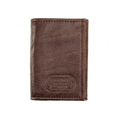 Buffalo Leather Three Fold Wallet - Made in USA - Buffalo Billfold Company