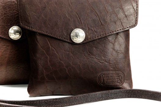 Small Buffalo Leather Purse - Made in USA - Buffalo Billfold Company