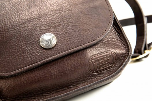 Bisonette Buffalo Leather Purse - Made in USA - Buffalo Billfold Company - Bottom