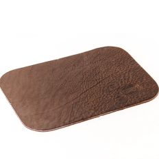 Buffalo Leather Mouse Pad