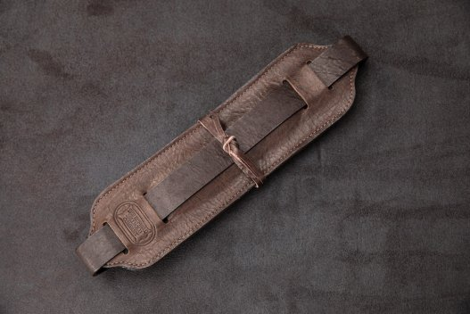 Buffalo Leather Guitar Strap - Made In America - Buffalo Billfold Company