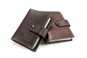 Extra Capacity Card Case - Buffalo Leather - Made In America - Buffalo Billfold Company