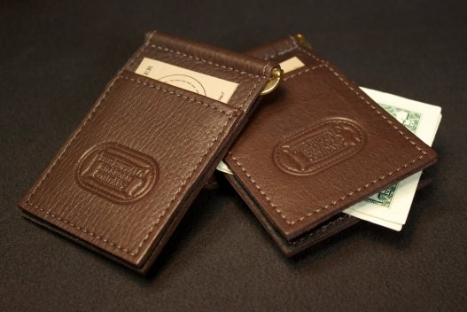 Best Minimalist Wallet - Bison Leather