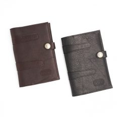 Leather Legal Pad Holder - Bison Leather - Made in USA - Buffalo Billfold Company