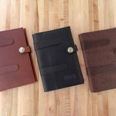 Leather Legal Pad Holder - Made in USA