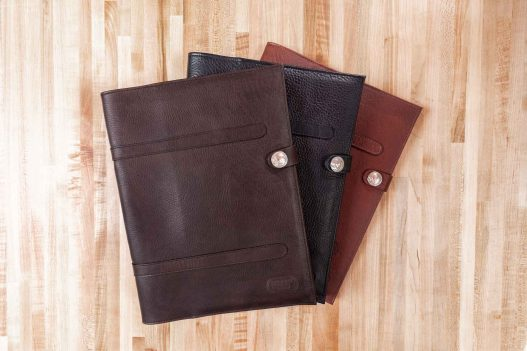 Leather Legal Pad Portfolio - Made in USA