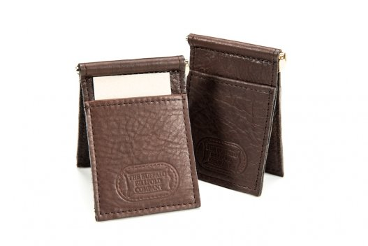 Money Clip Wallet, Credit Card Holder - Made In America - Buffalo Billfold Company