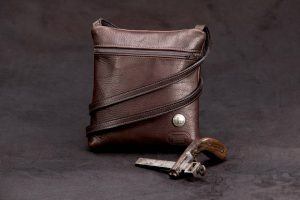 Traveler Buffalo Leather Purse - Made in America - Buffalo Billfold Company