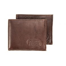 Buffalo Leather Two Fold Wallet Billfold - Made in USA - Buffalo Billfold Company