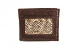 Rattlesnake Bifold Wallet - Made in America - Buffalo Billfold Company