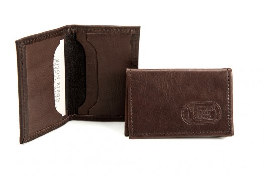 Card Case - Buffalo Leather - Made in America - Buffalo Billfold Company