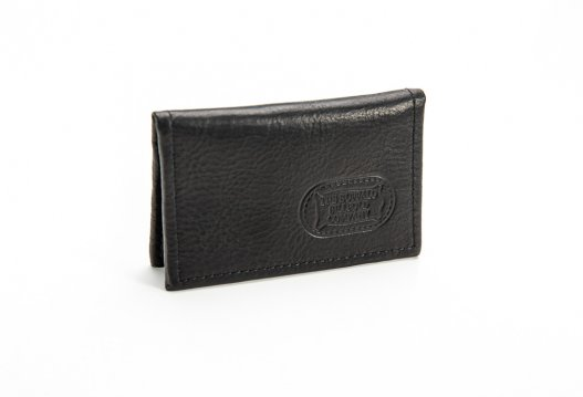 Leather Card Case - Buffalo Leather - Made in USA - Buffalo Billfold Company