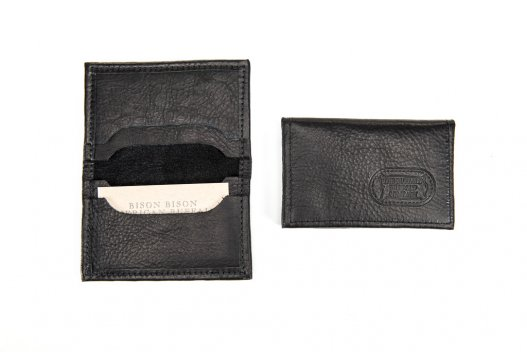 Card Case - Buffalo Leather - Made in USA - Buffalo Billfold Company