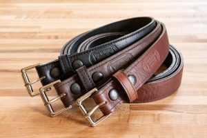 Buffalo Leather Belts - Made in USA