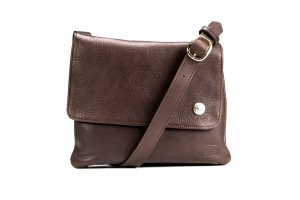 Trim Style Purse - Buffalo Leather - Buffalo Nickel - Made in USA