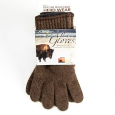 American Bison Wool Gloves - Made in the USA - Buffalo Billfold Company