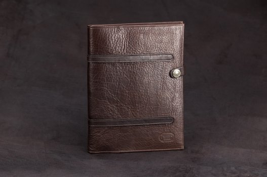 Buffalo Leather Standard Legal Pad Cover - Brown - Made in America - Buffalo Billfold Company
