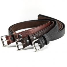 Buffalo Leather Belt - Made In America - Buffalo Billfold Company