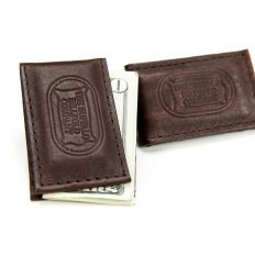 Buffalo Leather Magnetic Money Clip - Made in America - Buffalo Billfold Company