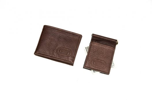 Two Fold Wallet and Money Clip - Made in USA - Buffalo Billfold Company