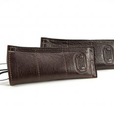 Buffalo Leather Spectacle Case - Made in USA
