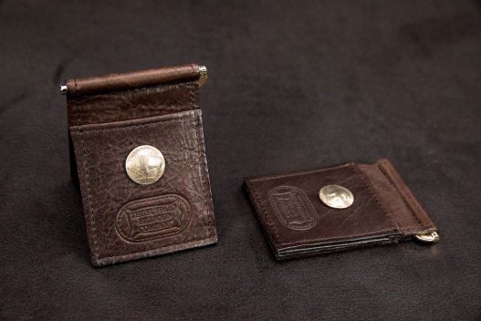 Money Clip Wallet - Buffalo Nickel - Made In America