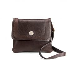 Holy Cross Trim Style Purse - Buffalo Leather - Made In America - Buffalo Billfold Company