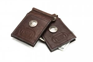 Money Clip Wallet - Buffalo Leather - Made in USA
