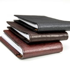 Buffalo Leather Flip Style Notepad - Made In America - Buffalo Billfold Company