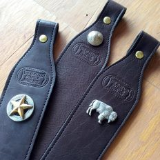 Buffalo Leather Rifle Sling - Made in USA - Buffalo Billfold Company