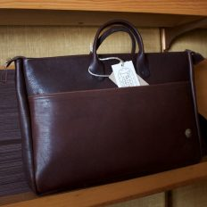 Vintage Leather Briefcase - Made In America - Buffalo Billfold Company