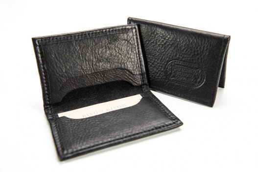 4 Pocket Card Case - Buffalo Leather - Made in USA - Buffalo Billfold Company