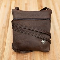 Leather Travel Purse - Made in USA