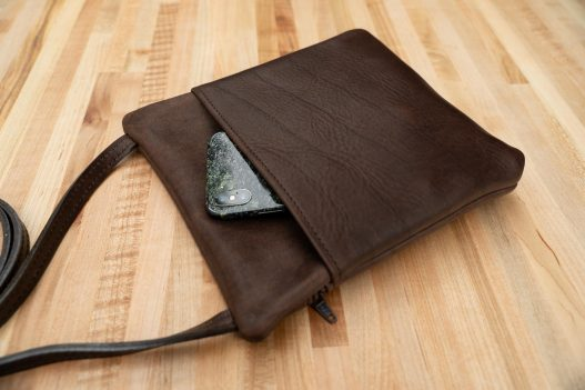 Travel Purse with Phone Pocket - Made in USA