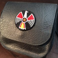 Beadwork Purse - Beaded Eagle - Made in America