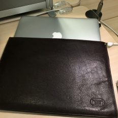 Macbook Air Leather Sleeve - 13 Inch Macbook