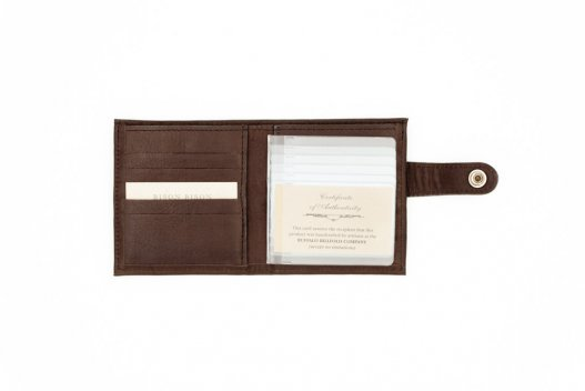 Snap Closure Wallet - Mens Snap Wallet