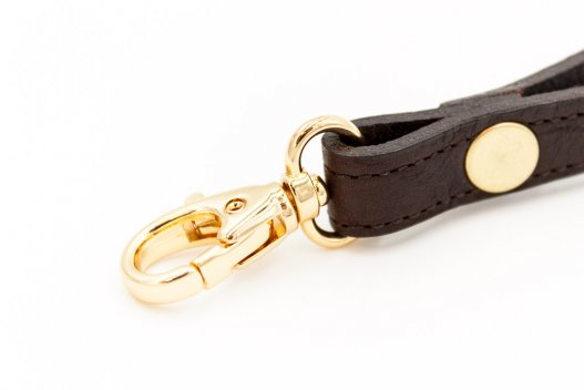Buffalo Leather Wrist Strap - Brown