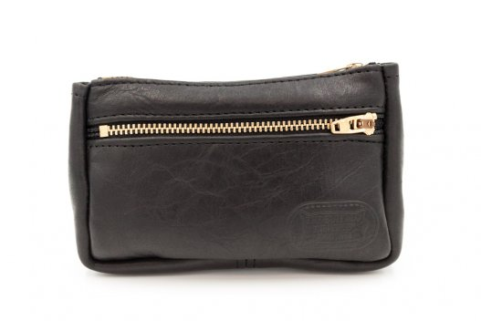 Small Leather Pouch - Black