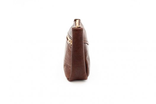 Small Leather Pouch - Brown - Made in USA