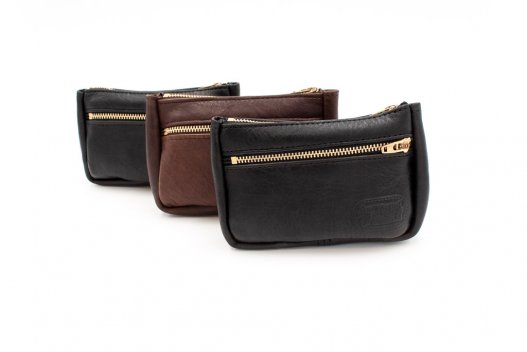 Small Leather Pouches - Black Leather Pouch - Brown Leather Pouch