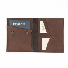 Buffalo Leather Passport Wallet
