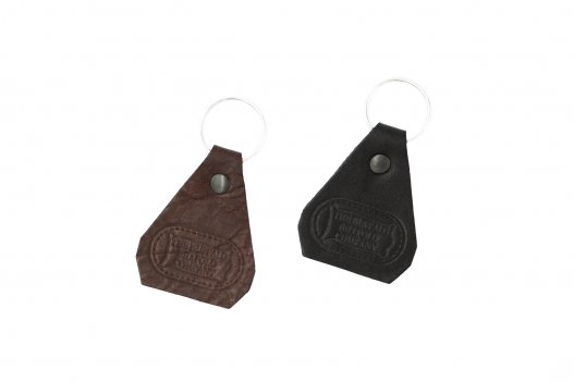 Buffalo Leather Keychains - Brown & Black - Made in USA