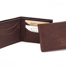 Buffalo Billfold - Leather Bifold Wallet - Handmade - Made in USA