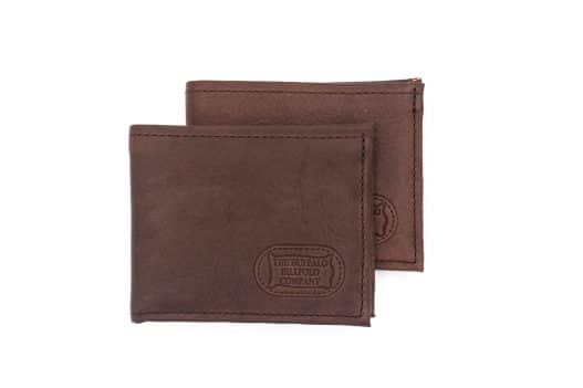 Buffalo Billfold - Leather Bifold Wallet - Handmade - Made USA