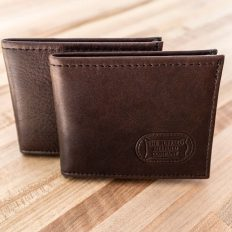 Buffalo Billfold - Mens Leather Bifold - Made in USA