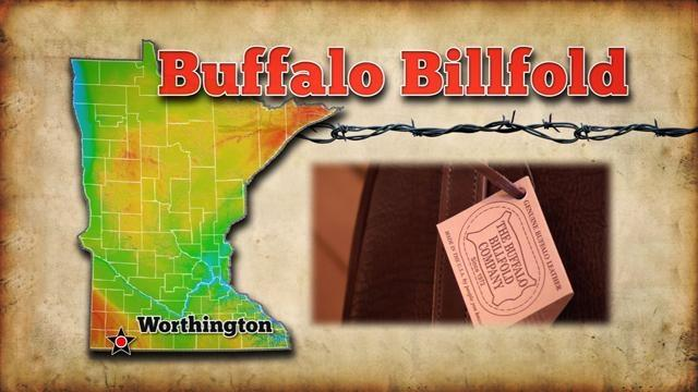 TPT Postcards Worthington - Buffalo Billfold Company