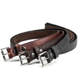 Handmade Buffalo Leather Belts - Made in USA
