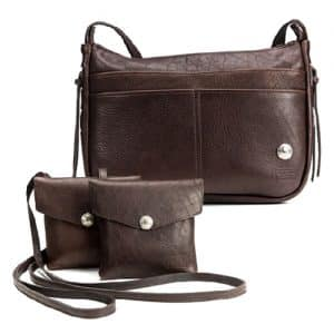 Handmade Buffalo Leather Purses & Bags - Made in USA