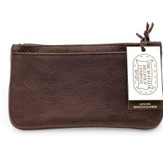 Leather Zipper Pouch | Buffalo Billfold Company